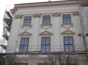 Püspöki Palota felújítási munkái - Szombathely